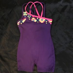 Youth dance/gymnastics outfit